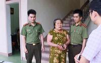 Bắt giữ người phụ nữ làm giả con dấu của Công an tỉnh Nghệ An