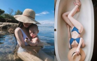 7 tháng sau sinh, ca nương Kiều Anh khoe vóc dáng với bikini đẹp như mơ khiến bao người ngưỡng mộ