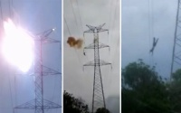 Trèo lên cột điện cao thế để tự tử nhưng thay đổi ý định và kết thúc bàng hoàng