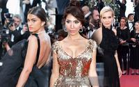 Ngôi sao truyền hình Farrah Abraham khoe 'ngực khủng' với dàn mỹ nhân chân dài trên thảm đỏ Cannes