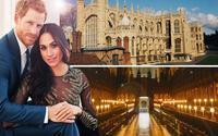 Bên trong nhà nguyện St George diễn ra đám cưới hoàng gia Anh