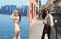 Bị chê sến, Đỗ Mỹ Linh nâng tầm với cây hàng hiệu, Ngân Anh diện bikini khoe vòng 3 gần một mét