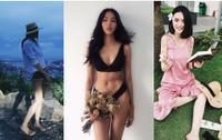 Thanh Hằng, em gái Angela Phương Trinh 'lăng-xê' mốt nón cói, Hoàng Thùy diện bikini khoe 3 vòng sau tăng cân