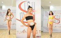 Mẫu phi giới tính đến 'đại náo' buổi casting lần 2 Siêu mẫu Việt Nam
