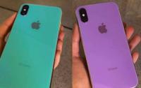 Lộ ảnh iPhone X Plus bản màu tím và màu xanh khiến nhiều người bất ngờ