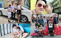 Gia đình sao Việt ngày 1/6: Người vi vu trời Tây, kẻ tặng con cả bộ sưu tập quần áo