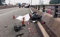 Bé gái 3 tuổi chết tức tưởi trên cầu vượt sau tai nạn thương tâm, nhiều người rơi lệ