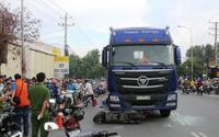 Vụ xe máy va chạm kinh hoàng với container: Thai nhi 7 tháng tuổi văng khỏi bụng mẹ đã tử vong