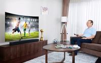 TV QLED 2018 - Chìa khóa vạn năng cho thành công của HLV Park Hang Seo
