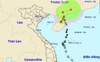 Bão số 2 hướng vào Trung Quốc, phía Bắc đề phòng sạt lở đất