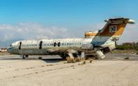 Sân bay 'ma' ở Địa Trung Hải bỏ hoang 44 năm