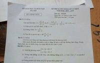 Thi vào lớp 10: Thầy giáo tung đề thi Toán lên mạng khi học sinh mới làm bài được một nửa thời gian