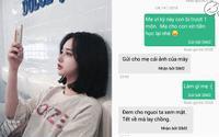 Nữ sinh 'mặt dày' nhắn tin cho mẹ xin tiền học lại và cái kết 'xanh rờn'