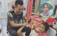 Em bé Mường Lát được ca sĩ Khắc Việt nhận đỡ đầu, hỗ trợ việc học đến hết cấp 2