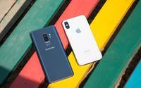 iPhone X mất ngôi vương doanh số vào tay bộ đôi Galaxy S9+ và S9 của Samsung