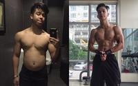 Lột xác thành hot boy cơ bắp trong vòng 13 tuần, dân mạng kêu gào trở về thời '6 múi dồn 1' cho dễ thương