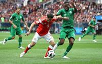 Cầu thủ Saudi Arabia bị phạt vì thua quá đậm trong ngày khai mạc World Cup 2018