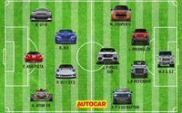 Đội hình 'xế hộp' trong mơ nếu có một kì World Cup dành cho xe hơi