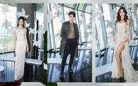 Mâu Thủy khoe vòng một 'khủng', Đào Bá Lộc mặc áo lưới dự show thời trang