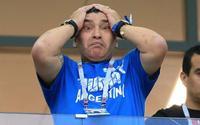 Hành động 'quái gở' của Maradona trong trận Argentina thảm bại trước Croatia