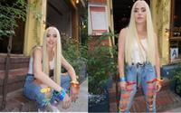 'Nữ quái' Lady Gaga diện quần jean 7 sắc cầu vồng ủng hộ cộng đồng LGBT