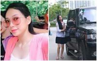Cư dân mạng thi nhau truy link của nữ sinh xinh đẹp đi thi THPT bằng siêu xe Range Rover