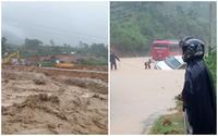 Khung cảnh hoang tàn, tang thương bao trùm các tỉnh phía Bắc sau trận mưa lũ kinh hoàng