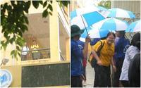 Kết thúc ngày chinh chiến cuối cùng của kỳ thi THPT quốc gia, sĩ tử Hà Nội 'ướt như chuột lột' vì ra về giữa cơn mưa tầm tã