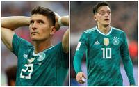 """Đức bị loại khỏi World Cup: Khoảnh khắc dàn cầu thủ """"đẹp hơn hoa"""" rơi nước mắt, chị em tan nát cõi lòng!"""