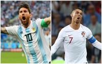 Sau trận thua tối qua, cư dân mạng đồng loạt chế ảnh Messi và Ronaldo dắt tay nhau rời World Cup 2018