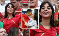 Bạn gái Ronaldo trở thành mục tiêu trút giận của CĐV sau khi Bồ Đào Nha phải về nước sớm
