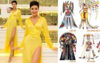 H'hen Niê đau đầu lựa chọn trang phục truyền thống để chinh chiến trên đấu trường sắc đẹp Miss Universe