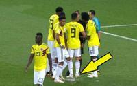 Sao Colombia dùng thủ đoạn 'bẩn thỉu' để phá hoại cú đá penalty của Harry Kane