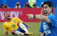 Maradona khuyên Neymar nên bỏ thói ăn vạ thô thiển tại World Cup