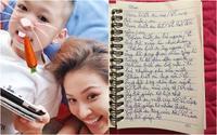 Con trai Vân Hugo gây xúc động mạnh vì bức thư tự tay viết gửi gia đình