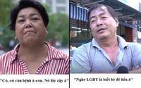 'Ngỡ ngàng' trước phản ứng của người dân khi được hỏi 'LGBT có phải là một căn bệnh?'