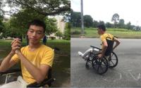 Chàng sinh viên từng mắc chứng bại não và hành trình chinh phục giấc mơ Đại học đầy bất ngờ