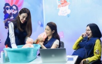 Tú Hảo không ngừng 'kiếm chuyện' với Mỹ Duyên - Thiên Nga trong thử thách tắm em bé