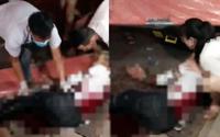 Kinh hoàng nam thanh niên bị 2 đối tượng bịt mặt chém đứt gân tay, gân chân khi đang ngồi uống nước với bạn gái
