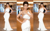 H'Hen Niê hóa nữ thần với váy trắng cut out bạo tay, hút chặt mọi ánh nhìn