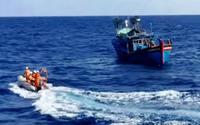 Một thuyền viên mất tích khi đang đánh cá trên biển