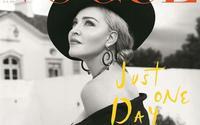 Hình ảnh đầy quyến rũ của nữ hoàng nhạc Pop Madonna trên bìa tạp chí danh tiếng