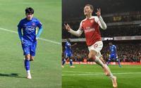 Xuân Trường, Bùi Tiến Dũng mang đôi giày may mắn của Mesut Ozil