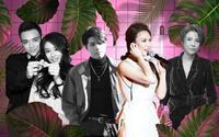 Nghệ sĩ cùng sản phẩm từ Hàn Quốc: Mỹ Tâm - Noo Phước Thịnh 'đóng chiếm' hạng cao nhất
