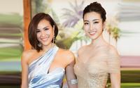 Hoa hậu Đỗ Mỹ Linh 'mạo hiểm' khi đọ sắc với MC nóng bỏng nhất Vbiz Phương Mai