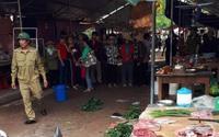 Nhân chứng kể lại giây phút kinh hoàng kẻ si tình nổ súng bắn chết cô gái bán đậu ngay giữa chợ