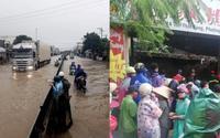Bão số 8 suy gây ngập lụt ở Nha Trang, sập nhà và sạt lở đất khiến 12 người tử vong