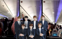 Kinh hoàng: Hàng chục fan cuồng đeo bám, làm náo loạn ngay trên máy bay của BTS