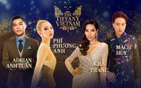 Khả Trang - Phí Phương Anh cùng Adrian Anh Tuấn - Mạch Huy trở thành 'Beauty Dad - Mom' của The Tiffany Vietnam