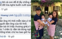 Giữa lúc MC Hoàng Linh bị mỉa mai 'bỏ cả con để lấy chồng mới' thì chồng cũ Trung Nghĩa lại có hành động này